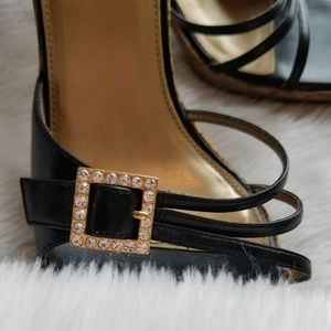 Carlos Santana  lotus sandals